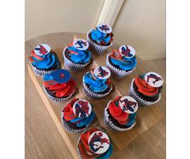 Spiderman Cupcakes Misarose Cakes
